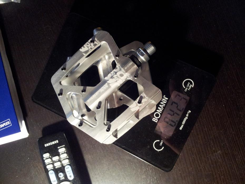 gewicht nukeproof pedale platform proton alu cromo. Black Bedroom Furniture Sets. Home Design Ideas